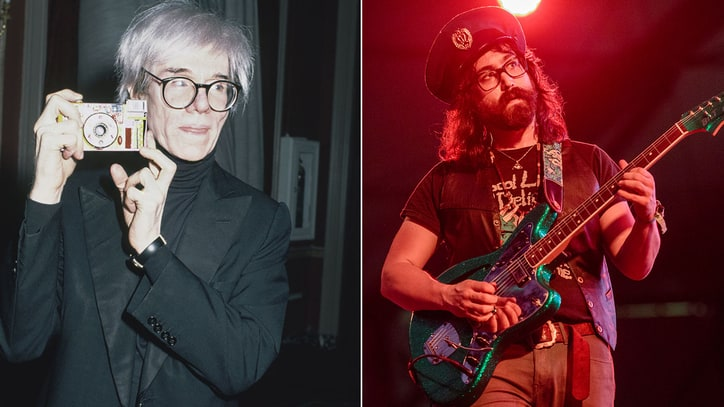 Hear Sean Lennon's Poignant Tribute to Andy Warhol