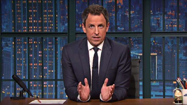 Watch Seth Meyers' Heartfelt Post-Election Monologue
