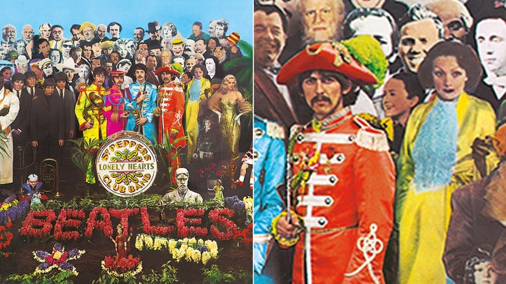 Original Cutout From Beatles' 'Sgt. Pepper' Cover Up for Auction