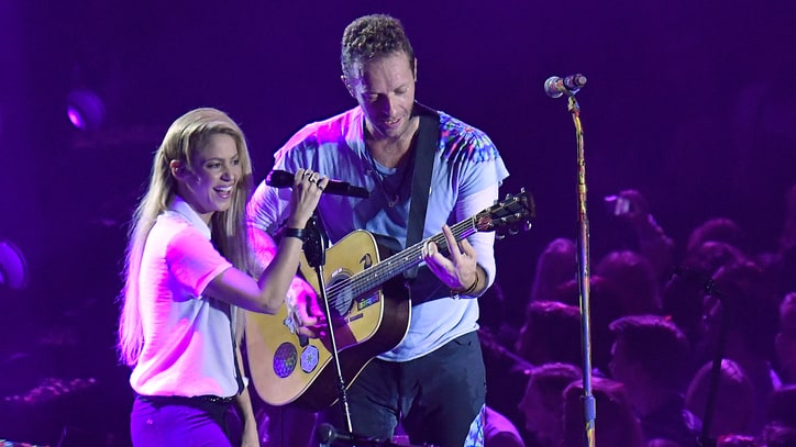 Watch Coldplay, Shakira Perform Together at Global Citizen