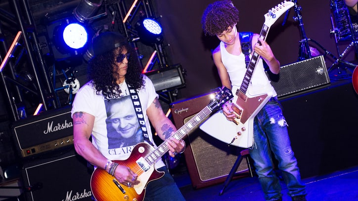 See Guns N' Roses' Slash Surprise Kid Rockers at 'School of Rock'