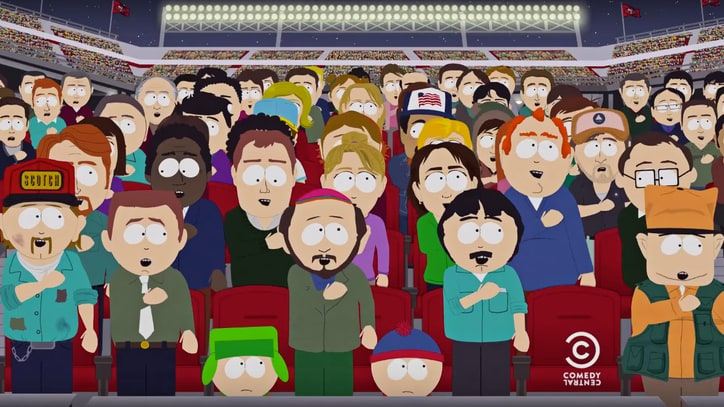 Watch 'South Park' Mock Colin Kaepernick's National Anthem Protest