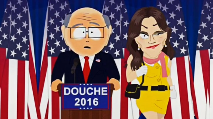 Watch 'South Park' Parody 'Giant Douche' Donald Trump's Election Win