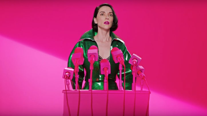 St. Vincent 'Announces' Fear the Future Tour
