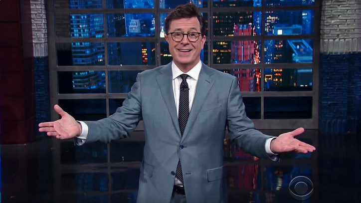 See Stephen Colbert Respond to Donald Trump's 'No-Talent' Insult