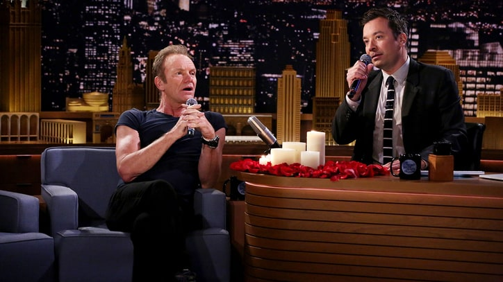Watch Sting, Jimmy Fallon Sing Awkward Text Messages