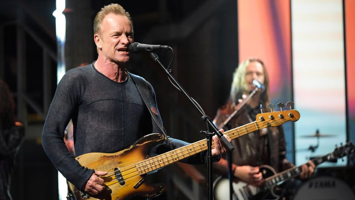 Watch Sting Talk Meditating in New York, Return to Rock on 'Colbert'