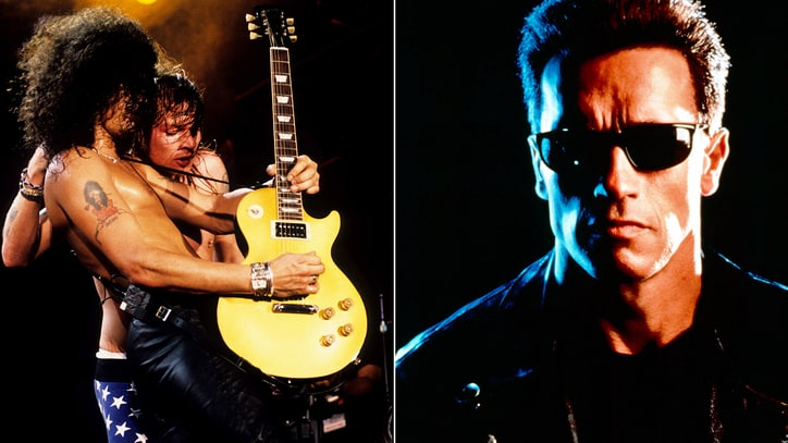 Flashback: Guns N' Roses Meet the Terminator