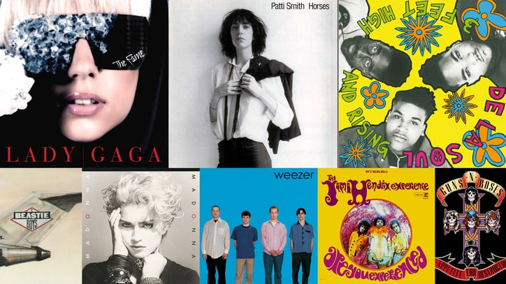 The 100 Best Debut Albums of All Time