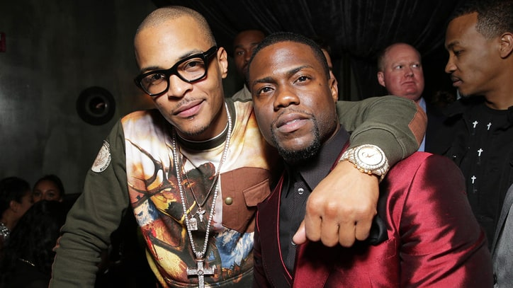 T.I., Kevin Hart to Produce Music-Themed Comedy Series
