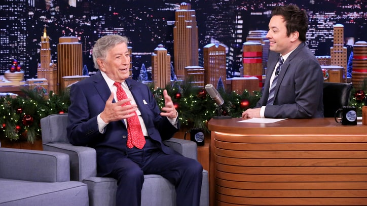 Watch Tony Bennett Recall Friendship With Frank Sinatra on 'Fallon'