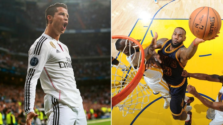 Cristiano Ronaldo, LeBron James Top Highest-Paid Athletes in World List