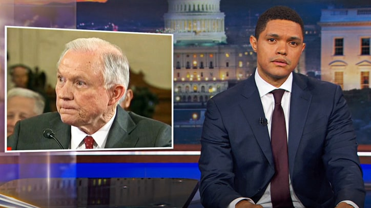 See Trevor Noah Call Out Jeff Sessions' Excuses on 'Daily Show'