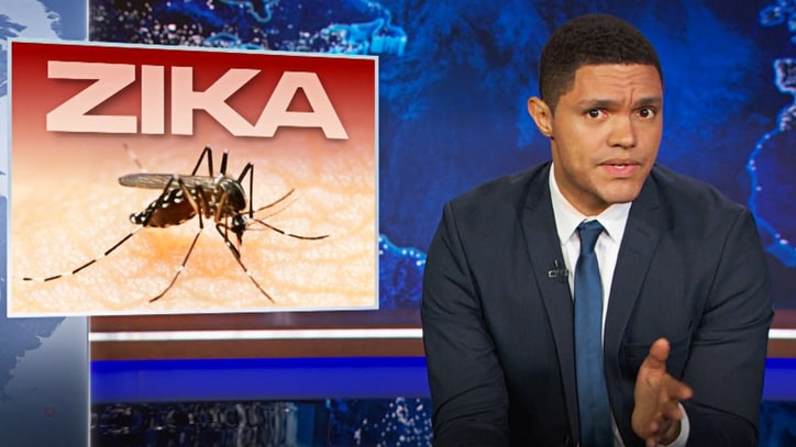 Watch Trevor Noah Discuss Zika Virus, Olympics 'Sh-tshow'