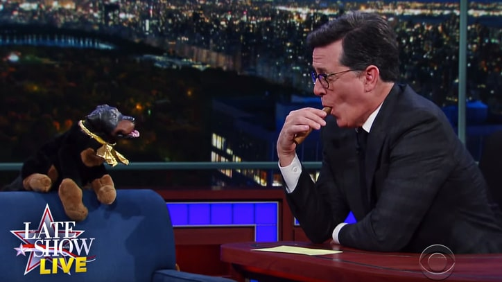 Watch Triumph the Insult Comic Dog Explain Trump's Victory on 'Colbert'