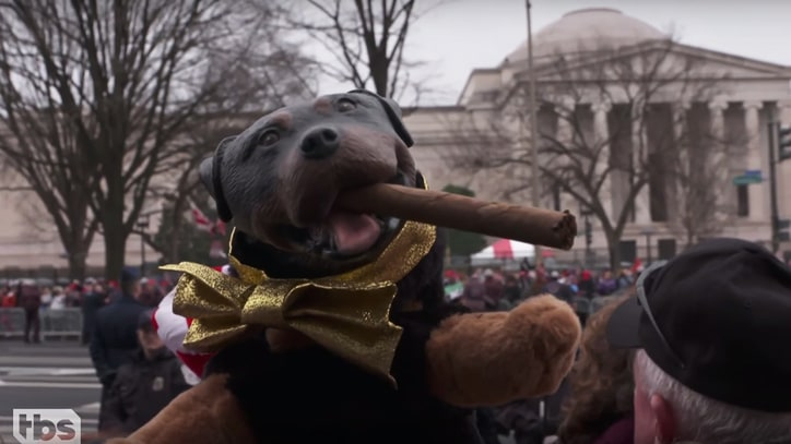 Watch Triumph the Insult Comic Dog Hound Trump Voters on 'Conan'