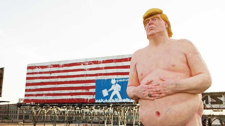 Mega-Developer Backs New Naked Trump Statues