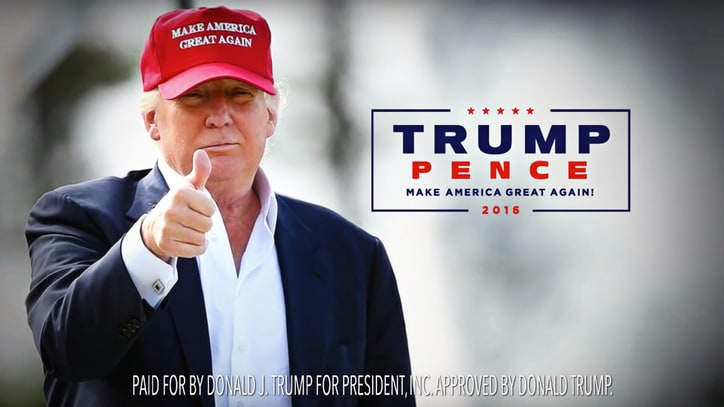 Watch Donald Trump Focus on Border in Debut General Election Ad