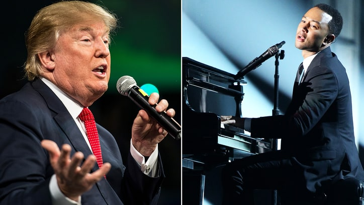 John Legend: 'Donald Trump Saying Hitler-Level Things in Public'