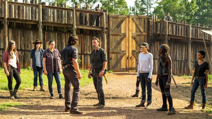 'The Walking Dead' Midseason Finale Recap: The Gang's All Here