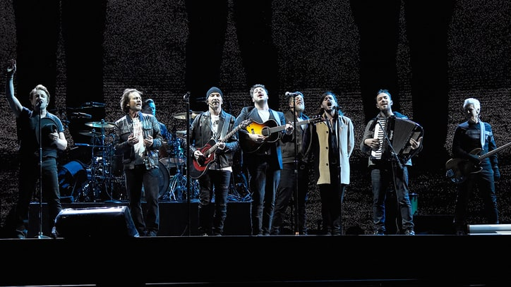 Watch U2 Perform With Eddie Vedder, Mumford & Sons in Seattle