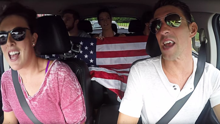 See Michael Phelps, U.S. Swim Team Spoof 'Carpool Karaoke'