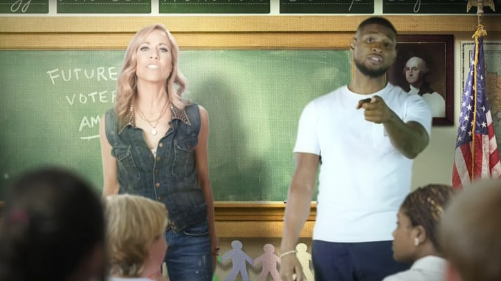 Watch Usher, Sheryl Crow Tell Politicians 'Stop Using Our Songs'