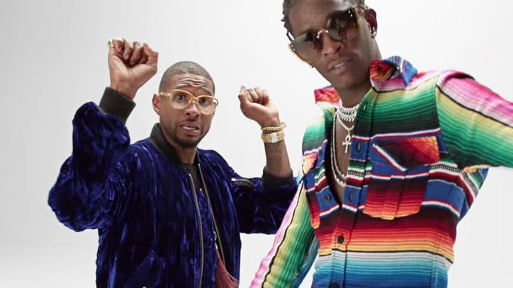 Watch Usher, Young Thug Groove in Minimalist 'No Limit' Video