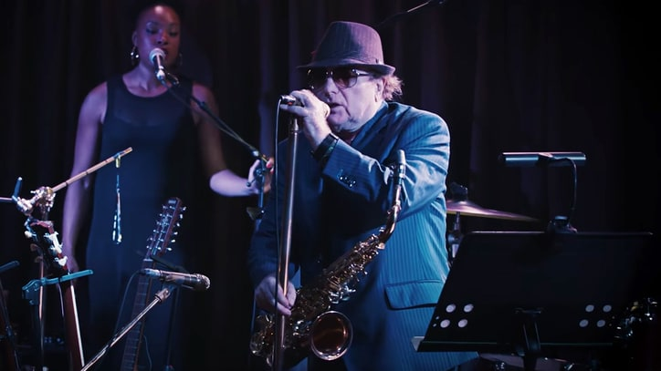 Watch Van Morrison's Lively 'Too Late' Video
