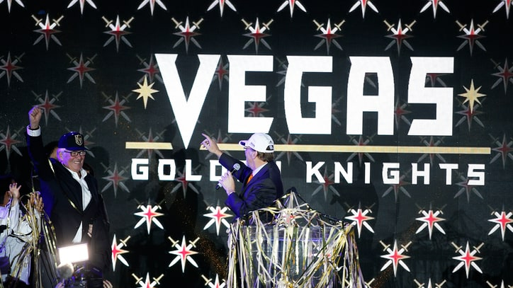 NHL Names Vegas Golden Knights as Newest Franchise