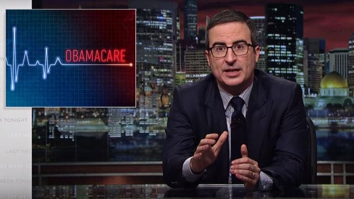 Watch John Oliver Compare Obamacare Replacement to Thong Underwear