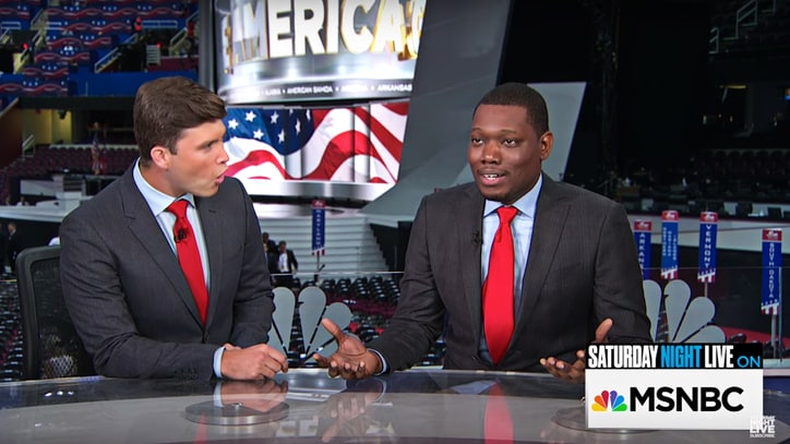 Watch 'Weekend Update' Take On Trump, Christie in Special RNC Edition