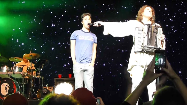 Watch Lin-Manuel Miranda Join 'Weird Al' for Live 'Yoda'