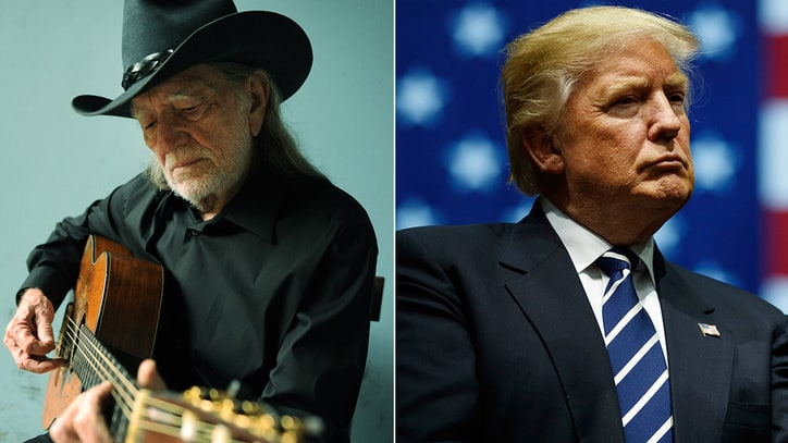 Willie Nelson Reveals New Trump-Inspired Song 'Delete and Fast-Forward'