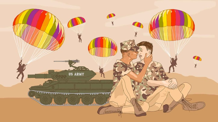 How Exclusion From the Military Strengthened Gay Identity in America