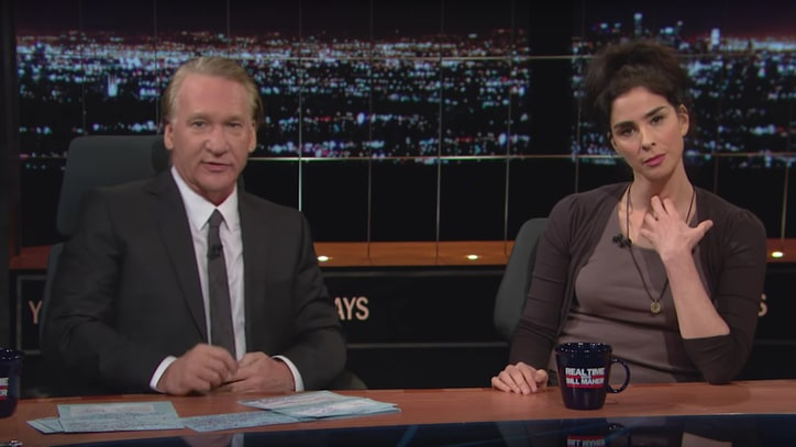 See Bill Maher, Sarah Silverman Scold Bernie Bros Voting for Gary Johnson