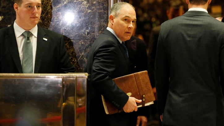 Trump's EPA Pick Is the Fossil-Fuel Industry's Con Man