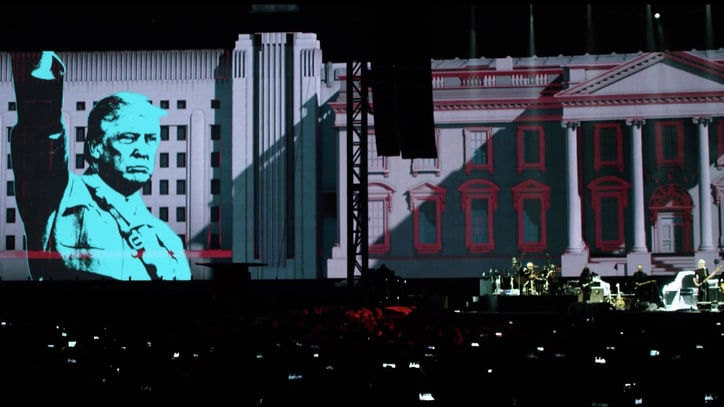 See Roger Waters Begin Trump Resistance With 'Pigs' Live Video