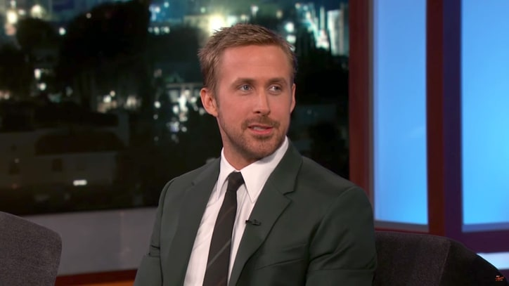 Watch Ryan Gosling, Jimmy Kimmel Trade Comforting Las Vegas Memories