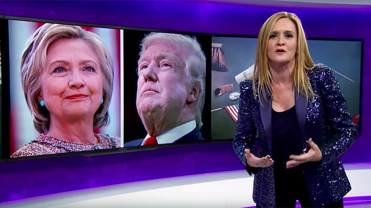 Watch Samantha Bee's Blistering Election Night Recap