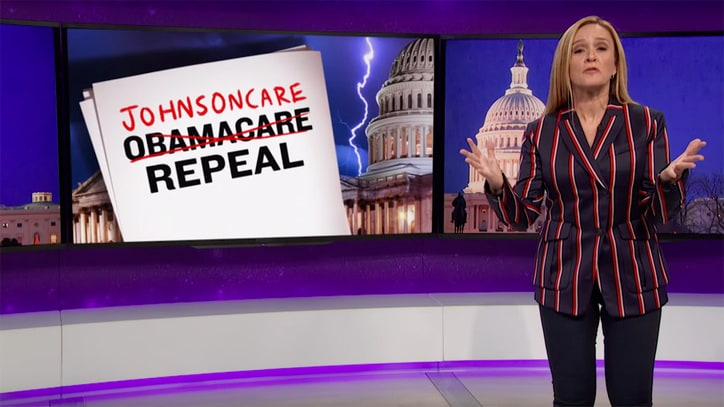 Watch Samantha Bee Skewer GOP Plans to Gut Medicaid