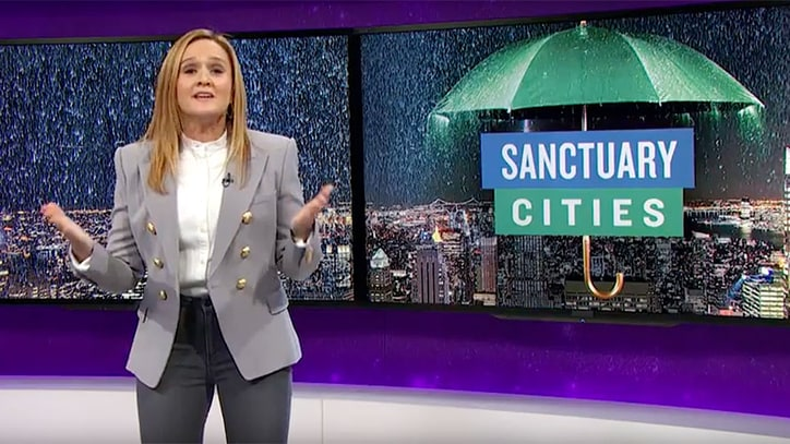 See Samantha Bee Blast Trump's Threat to Defund Sanctuary Cities