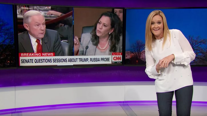 Watch Samantha Bee Compare Senate Hearings on Russia to O.J. Trial