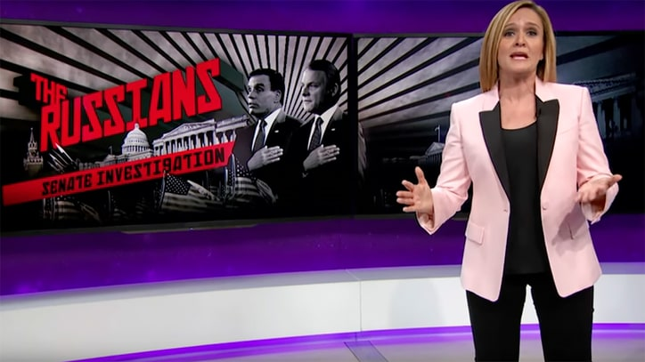 Watch Samantha Bee on Incompetent Russian Hacking Investigations