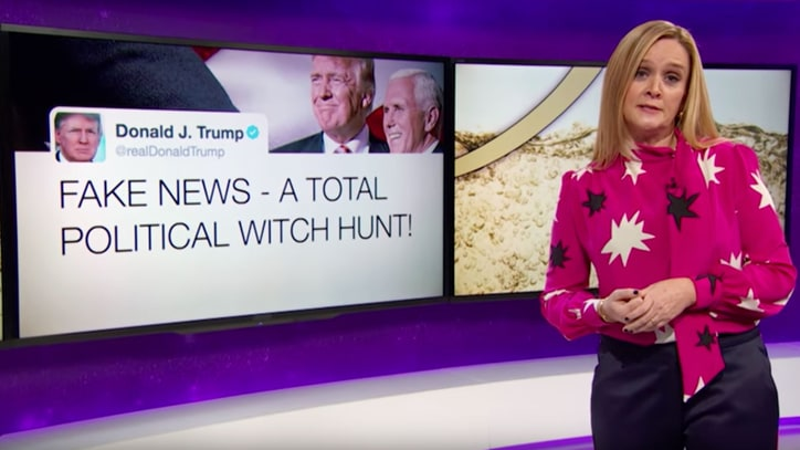 See Samantha Bee Mock Trump After 'Golden Shower' Allegations