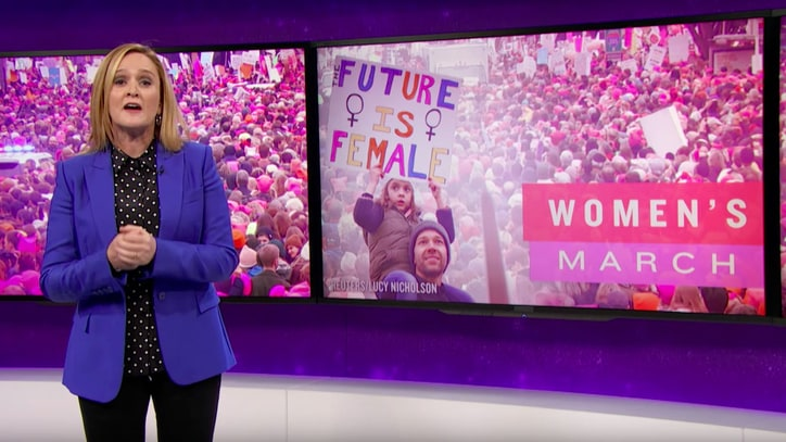 Watch Samantha Bee Celebrate Women's March With Viral 'Quiet' Choir