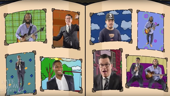 See Chance the Rapper, Stephen Colbert Recreate 'Arthur' Theme