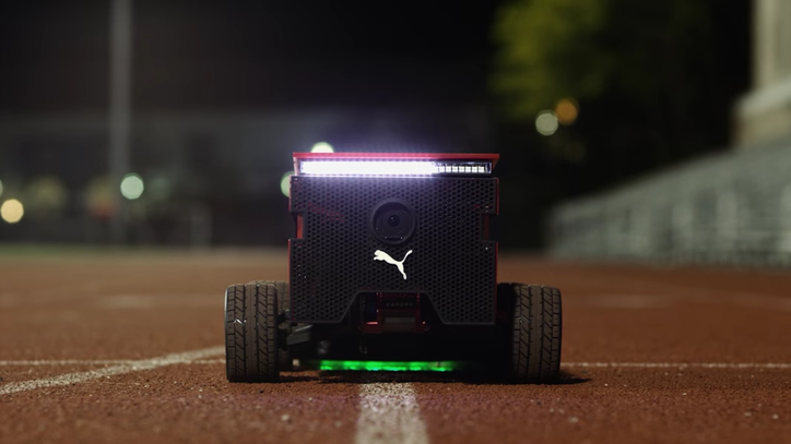 Puma's Track Robot Will Make You Run Faster