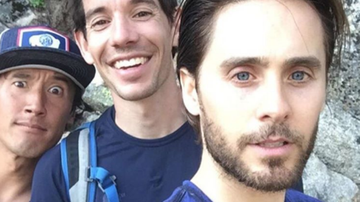 What's Jared Leto Doing with Alex Honnold and Jimmy Chin?