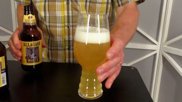 The Right Way to Pour a Wheat Beer